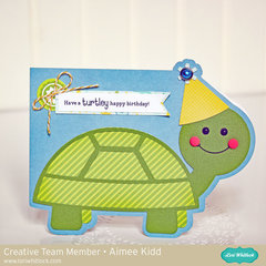 Have a turtley happy birthday! card