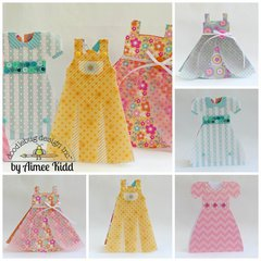Doodlebug dress cards