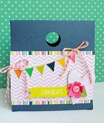 Congrats gift bag Pebbles