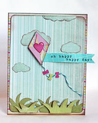Oh happy happy day! card
