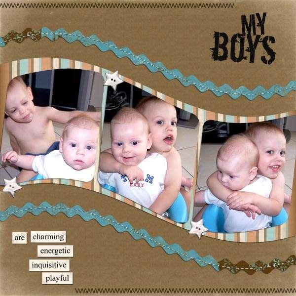 My Boys - photoswap