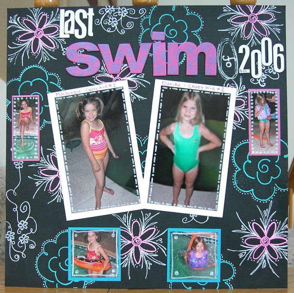 Last swim of 2006