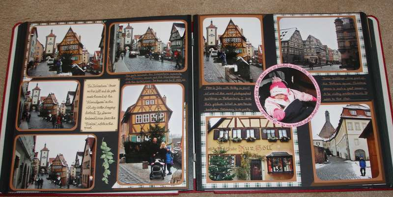 Rothenburg ob der Tauber Germany in the winter