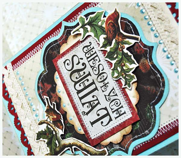Christmas card 9-details