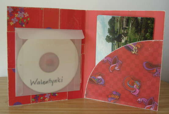 photo folder - red