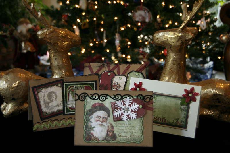 Christmas Cards 2011 Bo Bunny