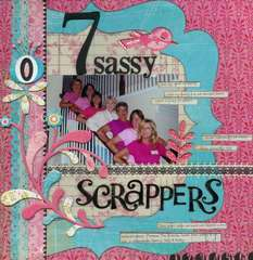 7 sassy Scrappers