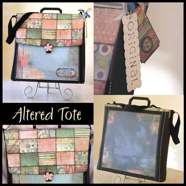 """Altered """"Patchwork"""" Tote"""