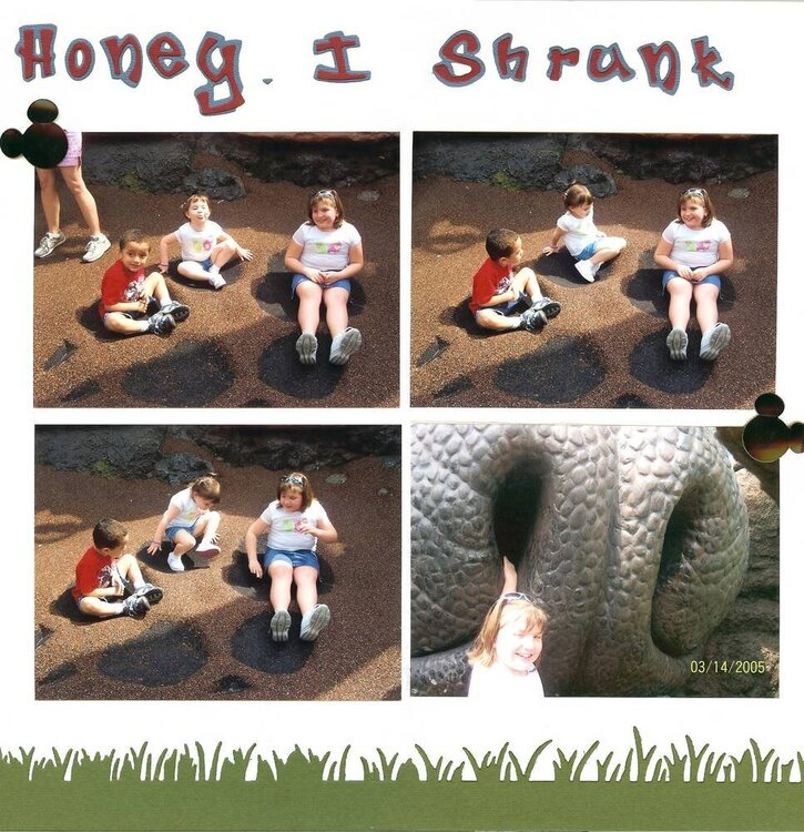 Honey I Shrunk the Kids - Page 1