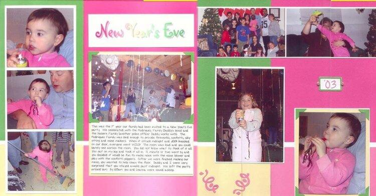 New Year's Eve - 2003, Makenna's Album