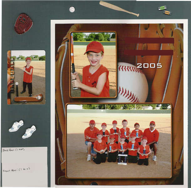 T-Ball Team Picture, 2005