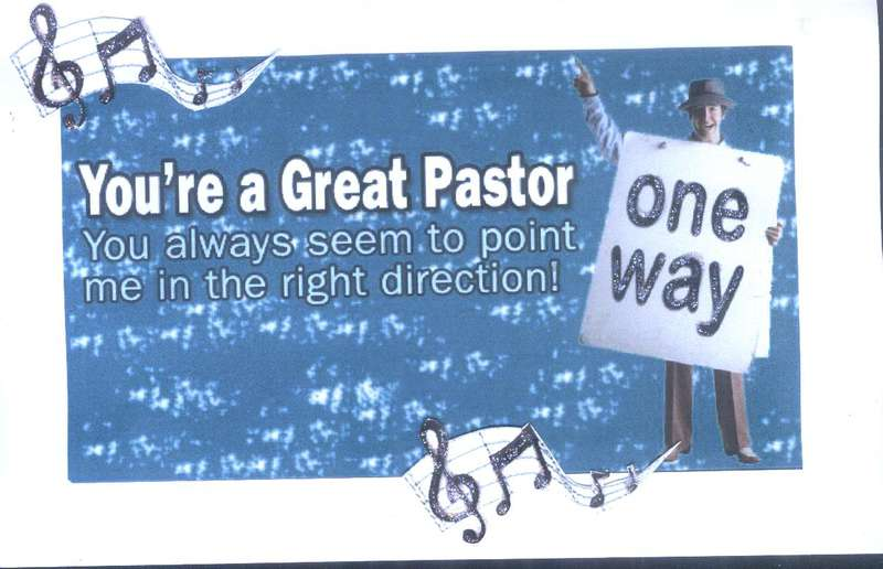 One Way-Pastor Appreciation