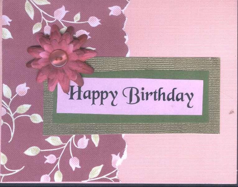 Pink Toned Happy Birthday