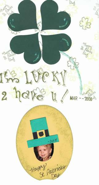 St Patricks Day craft for toddlers