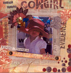 Cutest Little Cowgirl