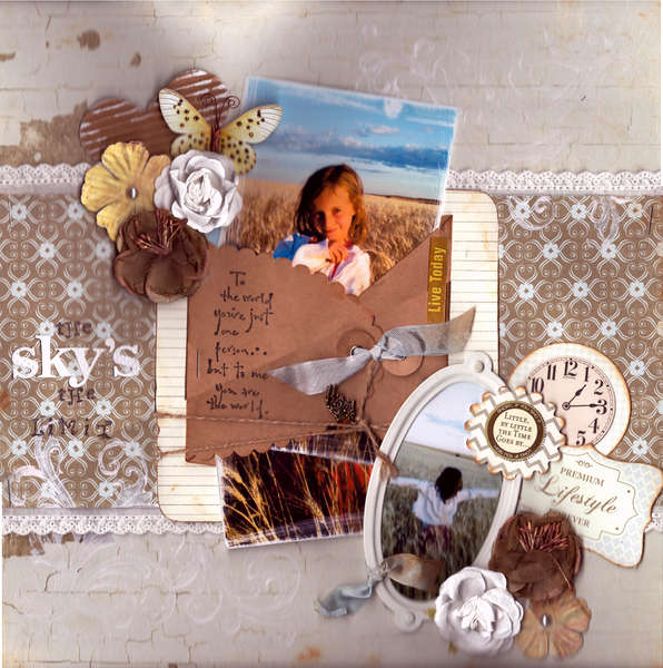 The Sky's The Limit **September FUNTOOLAS Kit**