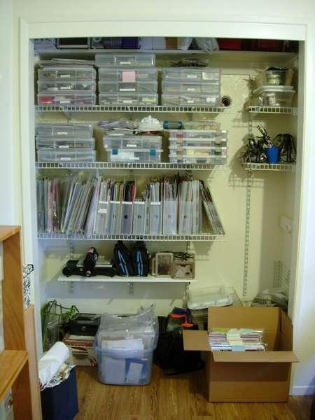 scrap room closet