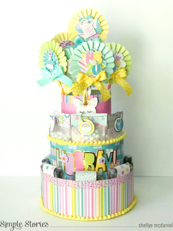 Magical Birthday Tiered Party Favor Display