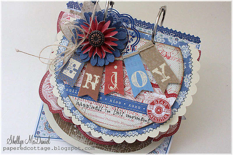 Enjoy Mini Album..Saturdays Collection by Little Yellow Bicycle