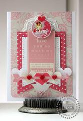 Amour Card *Pink Paislee*