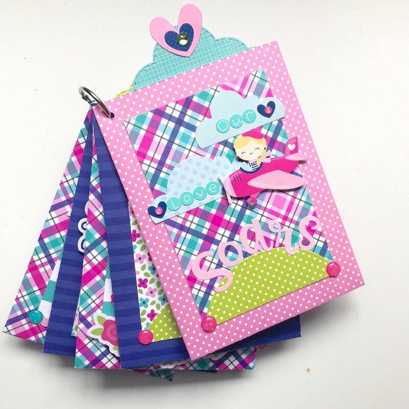 French Kiss Mini Pocket/Tag Album