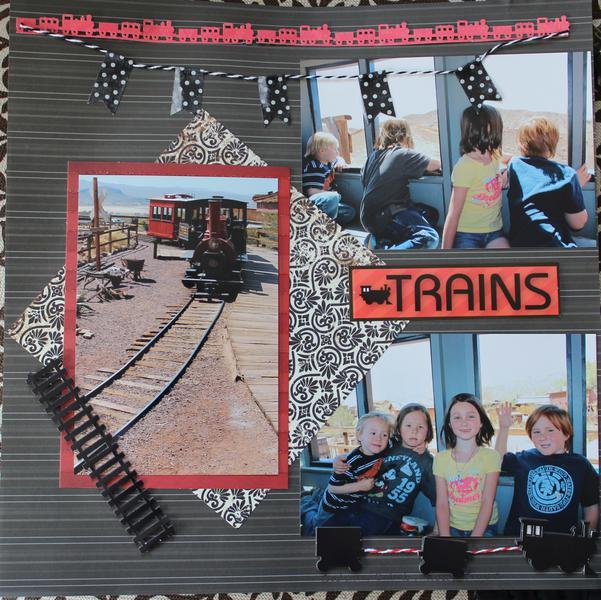 Train Ride in Calico