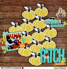 Pumpkin Patch | My Creative Scrapbook | Jillibean Soup