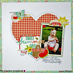 SWEET SUMMER DAYS | MY CREATIVE SCRAPBOOK | SIMPLE STORIES