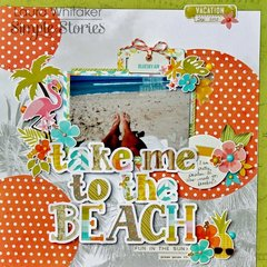 take me to the beach by Laura Whitaker