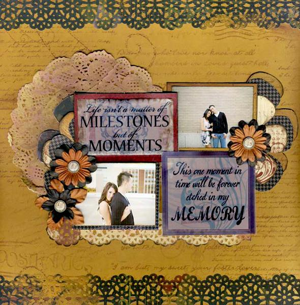 Milestones **Quick Quotes Cracklin Rose Collection**