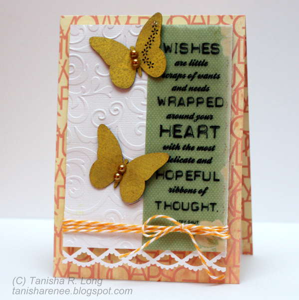 Butterfly Wishes Card