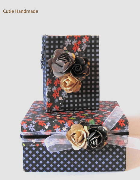 Gift Box And Bag Set,Origami, Wedding Favor Bags, Gift Wrap