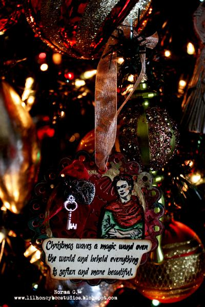 Frida Christmas Ornament