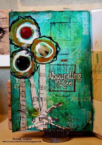 Abounding in Love - Art Journal