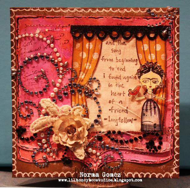 Frida Friendship Card