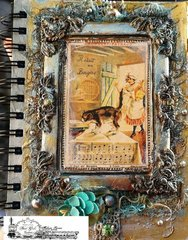 Altered Art Journal Cover