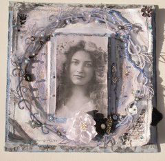 Vintage Photo With Frame
