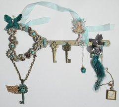 Fairy on Wall Art Key Holder