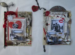 Cards by Melissa for August Promotional between Gina's Designs and Kitty's Scrap Post