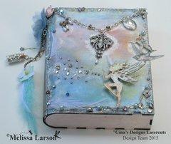 Fairy On A Book Box