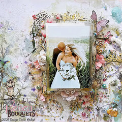 """Reneabouquets Design Team Page, """"Bliss"""""""