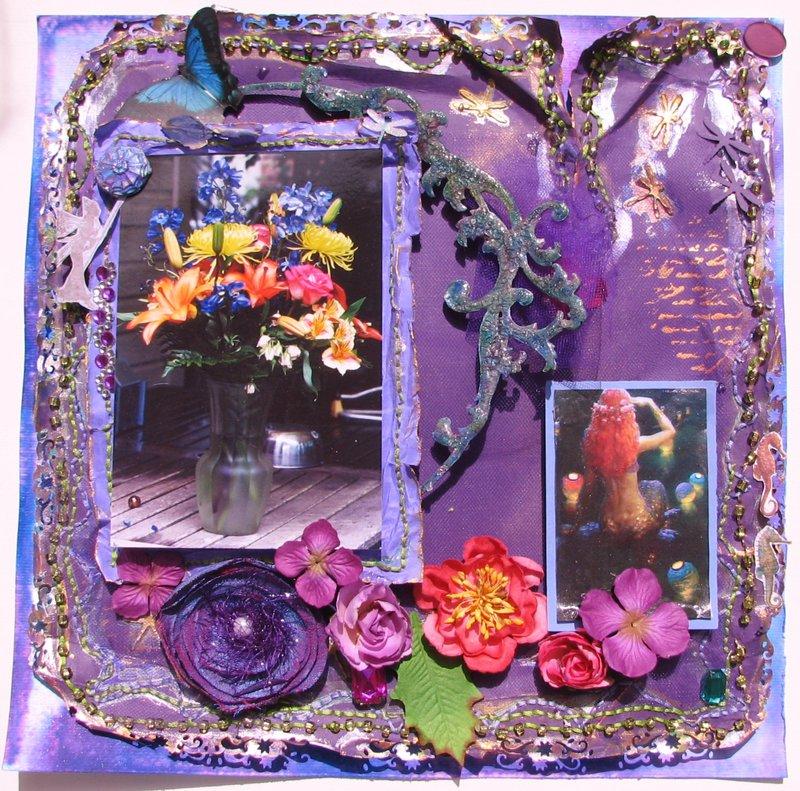 Flowers and Mermaid