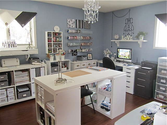 My  OLD Craft Room