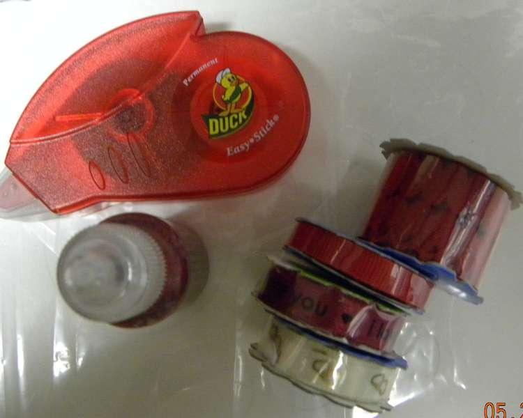 Adhesive & Ribbon Embellishments