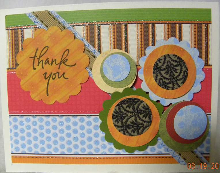 Scrapbuster Card - Thank you