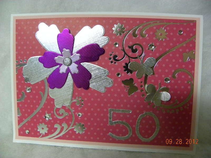 SIL 50th BD Card