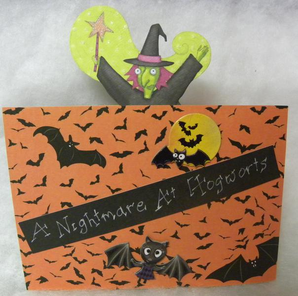Nightmare at Hogwarts, Pg Front
