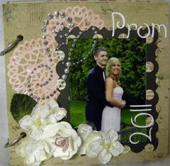 Prom Mini Memory Book, Cover