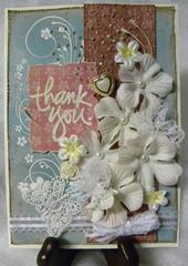 Gallery Inspiration #6 Card:  Thank You