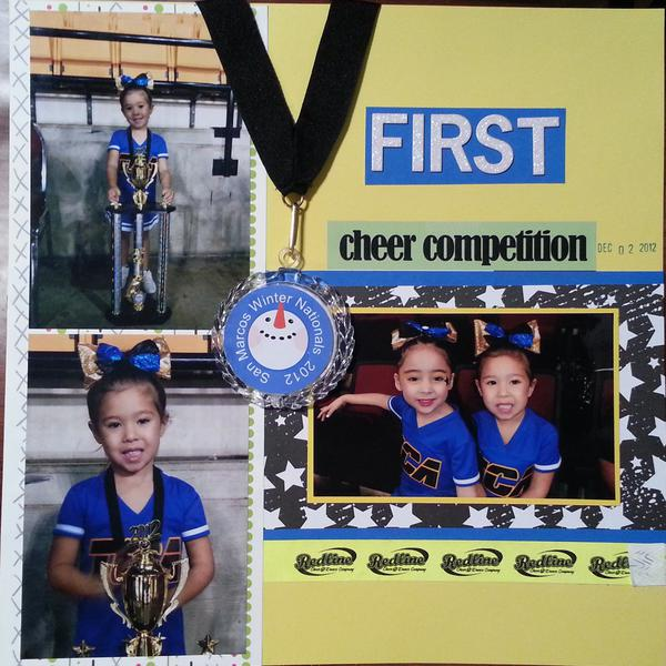 First Cheer Competition